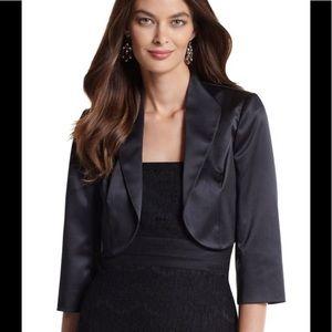 WHBM Black Evening Jacket